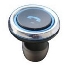 OURSPOP T1 2-em-1 Mini Wireless Bluetooth Earbud Car Charger - Preto