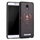3D Three Dimensional Embossed Back Case for Redmi Note 3 - Red + Black