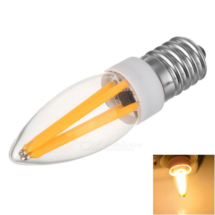 Mrsing Dimmable E14 3W 300lm COB LED Warm White Light Filament Bulb