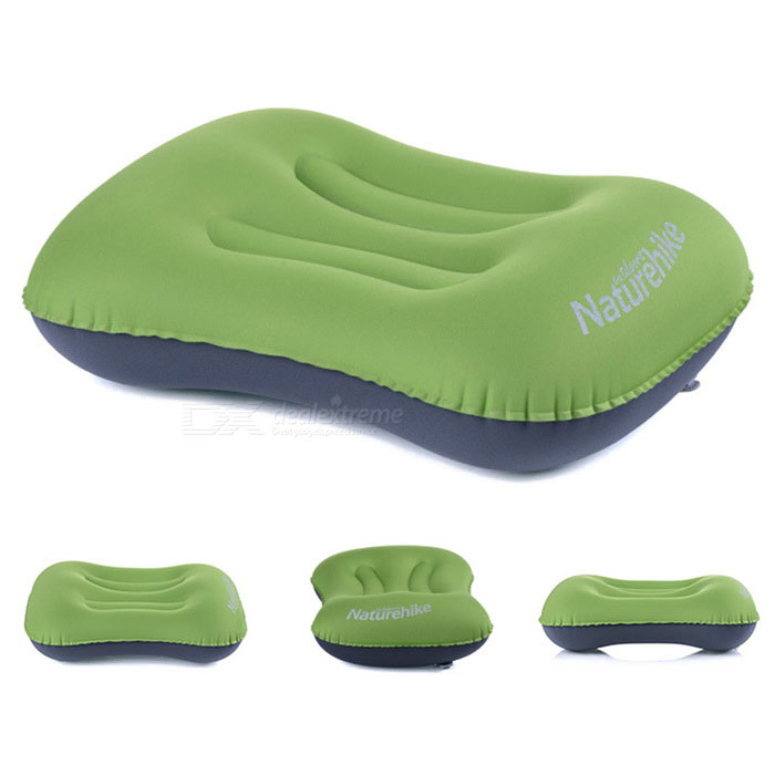 NatureHike NH15T016-Z Rectangular Inflatable TPU Pillow - Green