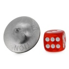 Gyro Inception w/ Dice, Storage Box for Totem - Silver