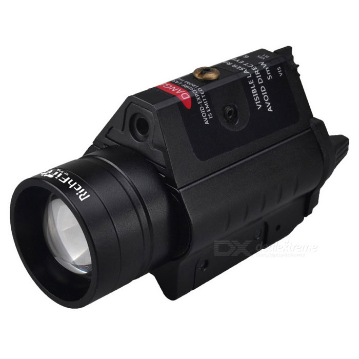 RichFire SF-P32 5W Red Waterproof Laser Range Finder Rifle Gun Scope w/ CREE XPG2 S4 Flashlight