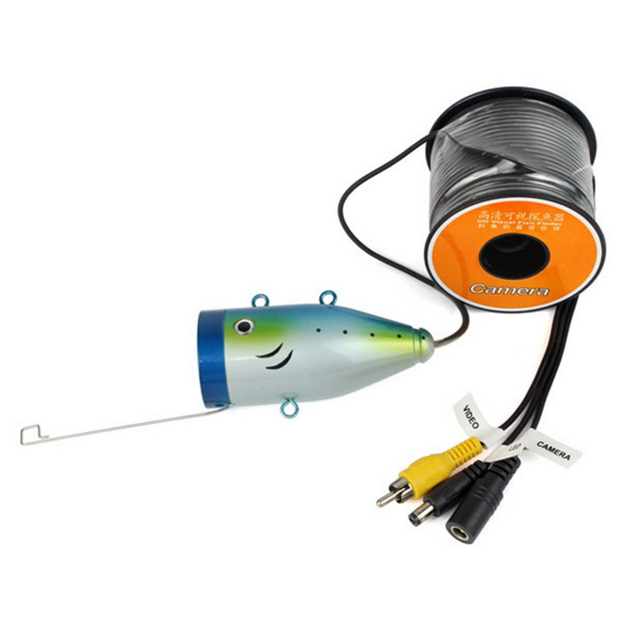 1w 12 Led White Hd 1000tvl Underwater Fishing Camera Fish
