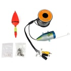 1W 12-LED Vit HD 1000TVL Undervattensfiskekamera Fish Finder