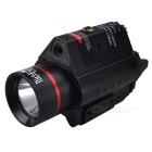 Red Dot Laser LED Flashlight Torch Sight Scope for Hunting (2 * CR123A)