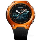Casio WSD-F10 Smart Outdoor Watch - Orange with Black Band