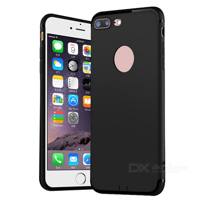 65c8ac8d103 Mr.northjoe Protective TPU Matte Back Case for IPHONE 7 PLUS - Black - Free  Shipping - DealExtreme