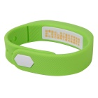DMDG Smart Sport 3D Pedometer Wristband Watch Bracelet - Green
