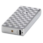 MAIKOU Single Arc USB Rechargeable Metal Pulse Lighter - Square Silver