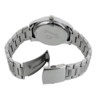 Y21 Stainless Steel Shell + Strap Bluetooth v4.0 Smart Watch for Men
