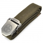 TOUGH Men Free Size Durable Belt with Metal Buckle - Cross (120CM-Length)