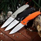 PA90 Portable Assisted Opening Camping Folding Knife - Black