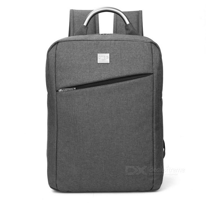 DTBG D8172W 15.6 Nylon Water-Resistant Laptop Backpack Handbag - GreyBags and Pouches<br>Form  ColorGreyModelD8172WQuantity1 DX.PCM.Model.AttributeModel.UnitShade Of ColorGrayMaterialNylonCompatible Size15.6 inchTypeBackpacks,Tote BagsPacking List1 * Backpack<br>