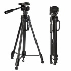Tripod Stand w/ 3 Way Pan Head for DSLR Cameras - Black