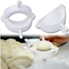 Creative Large-Size Plastic DIY Chinese Dumpling Maker - White