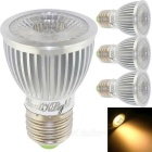 YouOKLight E27 5W COB LED Spotlights Warm White Light (4PCS)