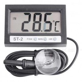 "ST-2 1.95"" LCD Digital Thermometer for Refrigerator / Aquarium"