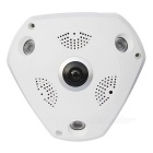 "Dela Vision 960p Wireless IP Camera w / 360 ""Fisheye, Wi-Fi (US pluggar)"