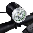 SKY RAY Bike Front Light & Headlamp + Taillight w/ Head Band - Black