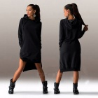 Europe / The United States Style Irregular Fashion Long-Sleeved Dress Sweater Dress for Women