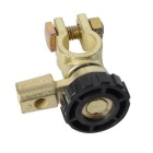 CARKING Metal Battery Isolator Rotary Cut off Switch - Black + Gold