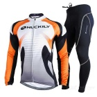 Outdoor Sports Winter Warm Polyester + Lycra Anti-deformation Wear Resistant Elastic Suit (XL)