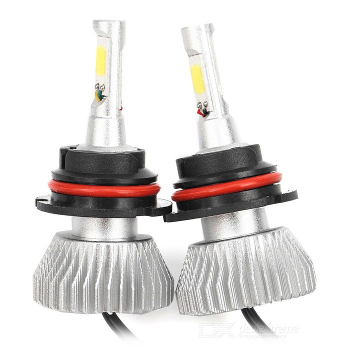 Joyshine 9007 HB5 Car LED Headlight Bulbs 60W 6000lm 6000K Cold White