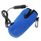 Portable Baby Feeding Milk Warmer Heater for Global Car Travel - Blue