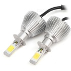 Joyshine H3 Car LED Headlight Bulbs 60W 6000lm 6000K Bright Cold White