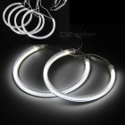 QooK W078 Angel Eye Ring Shaped White Light Lamps for BMW E46 (4 PCS)