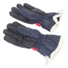 Outdoor Sports Skiing Warm Taslan + Cotton Full-Finger Gloves - Red
