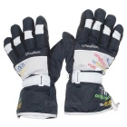 Unisex Winter Outdoor Sports Skiing Gloves Windproof Waterproof Warm Snowboard Cycling Gloves (Pair)