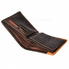 GUBINTU G8042-1R Cowhide Leather Short Retro Coin Pocket Men Wallet