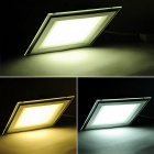 ZHISHUNJIA Square 12W 24*SMD 5730 Dimmable LED Ceiling Lamp 2700~6500K