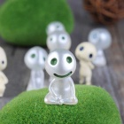 Cute Sit Grinning Kodama Style Luminous Gardening Pots Decorative Doll