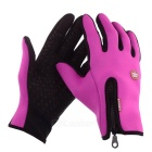 Neoprene Touch Screen Windproof Outdoor Sport Full-Finger Gloves