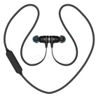 PLEXTONE BX335 Sport Bluetooth Magnet Switch Stereo Headphones - Black