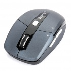 Sunsonny SR-EM23 2.4GHz Wireless Optical Mouse with USB Receiver - Black (2*AAA)