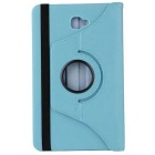 ENKAY 360 Degree Rotation Case w/ Stand for Samsung T580 - Light Blue