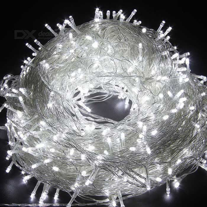 30m 18W 300-LED Cool White Light Christmas Twinkle String Lights