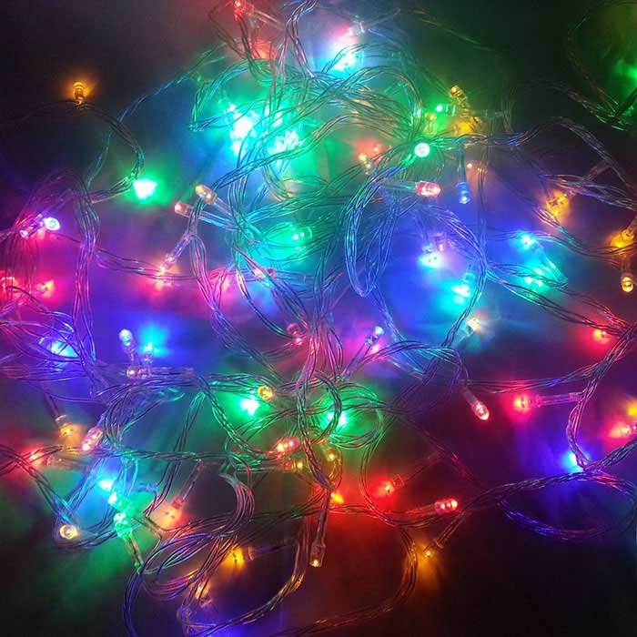 String Lights That Twinkle : 18W 300-LED Colorful Light Christmas Twinkle String Lights (30m) - Free Shipping - DealExtreme