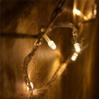 18W 300-LED Warm White Light Luzes de Natal Twinkle String (30m)