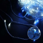 30m 18W 300-LED Blue Light Christmas Decorative Twinkle String Lights