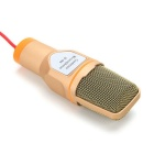 SF-666 Capacitive Microphone - Gold
