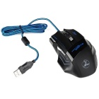 T80 5500 DPI 7-Button LED Optical USB Wired Gaming Mouse Mice for PC