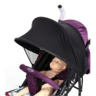 UV Protection Rain-proof Awning for Stroller Baby Carrier - Black