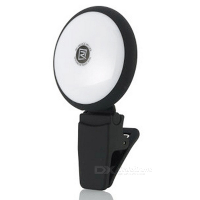 REMAX Universal Mini Fill-in Light Led Spotlight for Smartphone -Black