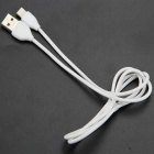Remax Type-C Male to USB Male Fast Charging Data Cable - White (1m)