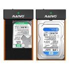 "MAIWO K3568B USB 3.0 2.5"" / 3.5"" SATA HDD Enclosure Case - Black"