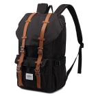 "KAUKKO EP5 22L Nylon Shoulder Backpack Fits for 15"" Laptop - Black"